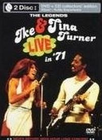 Cover Ike & Tina Turner - The Legends - Live In '71 [DVD]